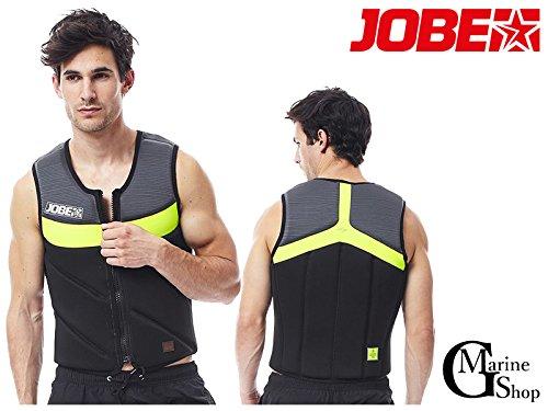 ライフジャケット メンズ JOBE Hybrid Comp Vest Lime B074H9ZHLT Medium