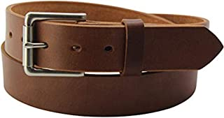 product image for Bullhide Belts - Smooth Edge Leather Belt - USA Made