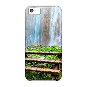 Shockproof/dirt-proof Nature Waterfalls Amazing Waterfall Covers Cases For Iphone(5c)