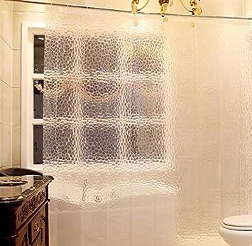 Amazon.com: Eforcurtain Eco Friendly Shower Curtain Liner , No ...