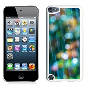New Beautiful Custom Designed Cover Case For iPod 5 With Rain Bokeh (2) Phone Case