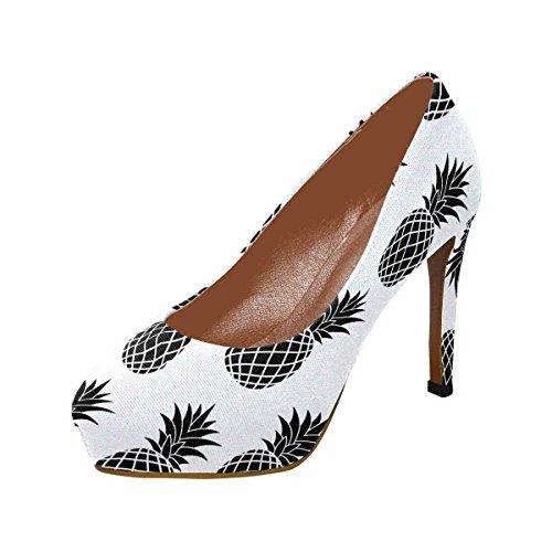 fd81a2c712 Plate-forme Talon Haut De La Mode Classique Des Femmes De Lempreinteprint  Pompes Fruits Ananas. chaussures ...