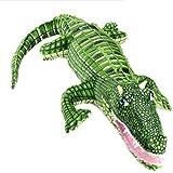 Lazada Realistic Stuffed Crocodile Body Curled Dolls Plush Alligator Toys Over 40 Inches