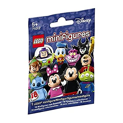 LEGO, Disney Minifigures, Bundle of 4(71012) Styles May Vary