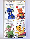 baby van gogh world of colors - Baby Einstein Collection of 4 Vhs: Baby Van Gogh - World of Colors, Numbers Nursery, World Animals & Mozart [VHS].
