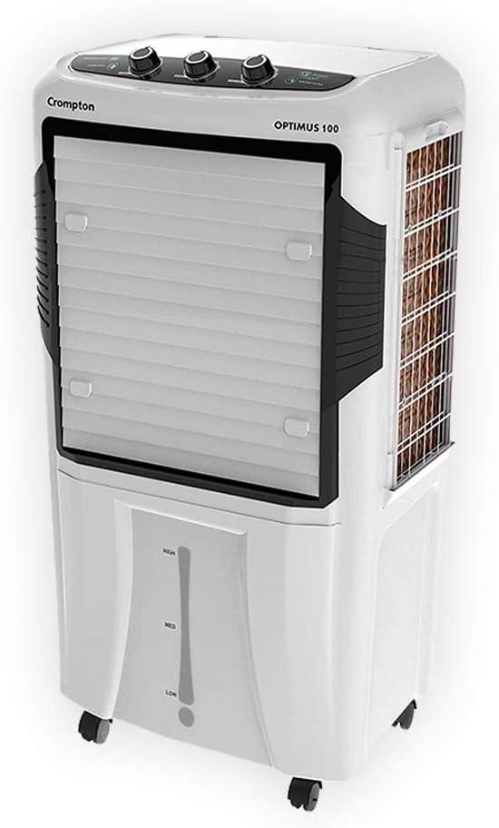 Crompton Optimus 100-Litre Desert Cooler (White)