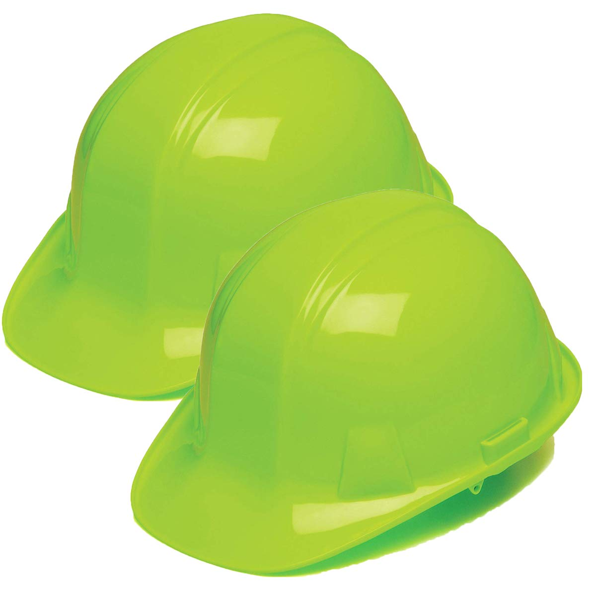 Pyramex Safety Products HP14131 Sl Series 4 Pt. Ratchet Suspension Hard Hat, Hi Vis Lime, (2 Pack)