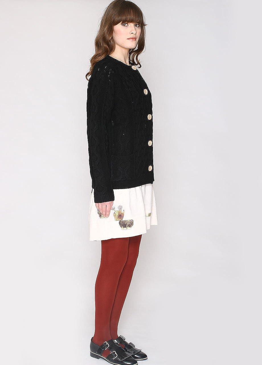 Pepaloves Cardigan Cable Jersey Premam/á para Mujer