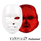 DEESSE Professional LED Facial Mask, Home Aesthetic Mask, Only Red Color LED Self-Care SBT-MASK-STD