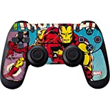 Comics PS4 Controller Skin – Marvel Comics Ironman | Marvel & Skinit Skin Review