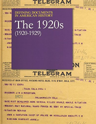 n American History: The 1920s (1920-1929): Print Purchase Includes Free Online Access ()