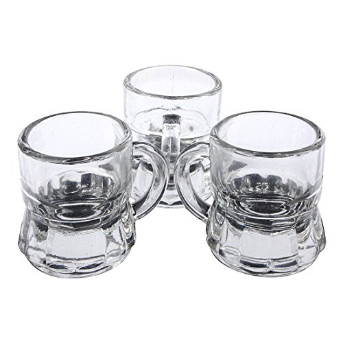 S/O® 12er Pack Schnapsgläser 3cl Stamper Schnaps Glas Shot Gläser Bar Schnapsglas Stamper Kurze 3cl Stamperle