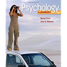 Psychology: A Journey (Available Titles CourseMate) by Dennis Coon (2010-01-01)