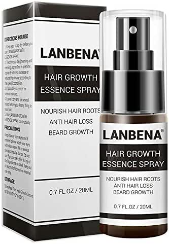 Hair Growth Essence Spray For Preventing Baldness Consolidating + Anti Hair Loss + Strong Nourish Hair Roots + Hair Regrowth (20 ml)