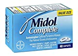 Midol Complete Caplets, 40-Count Box