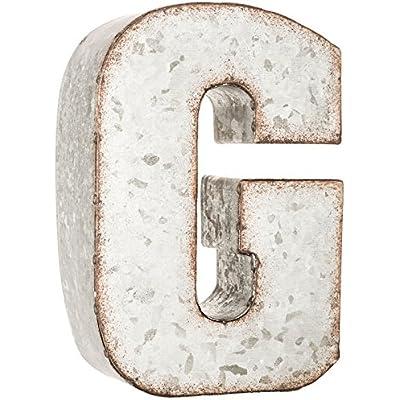 galvanized-metal-3d-letter-g