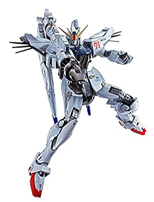 "Bandai Tamashii Nations Metal Build Gundam F91 ""Mobile Suit Action Figure"