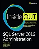 img - for SQL Server 2016 Administration Inside Out book / textbook / text book