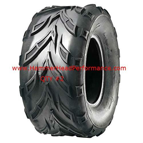 22x10-10 V Tread Go-kart Rear Tires (2)