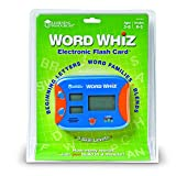 LEARNING RESOURCES WORD WHIZ ELECTRONIC FLASH CARD (Set of 6)