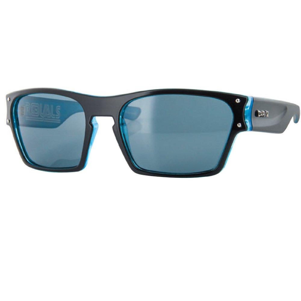 CARVE Eyewear Royals Gloss Black//Blue Crystal With Polarized Grey Lens