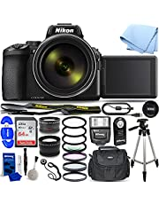$1079 » Nikon COOLPIX P950 16MP 83x Super Telephoto Zoom 4K UHD Digital Camera - Ultimate Bundle Includes: Ultra 64GB SD, Slave Flash, Telephoto and Wide Angle Lens, Filter Kits and More