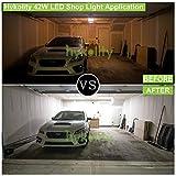 Hykolity 5000K LED Shop Light Linkable, 4FT