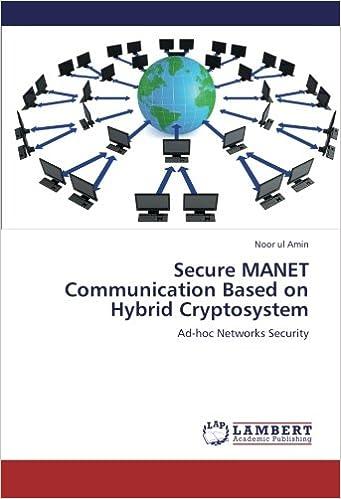Book Secure MANET Communication Based on Hybrid Cryptosystem: Ad-hoc Networks Security