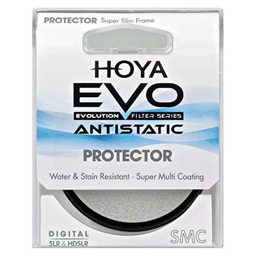 Hoya Evo Antistatic Protector Filter - 43mm - Dust / Stain / Water Repellent, Low-Profile Filter (Evo Protector)