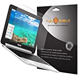 Asus Chromebook Flip Screen Protector [5-Pack], Flex Shield - Ultra Clear Japanese PET Film with Lifetime Warranty - Bubble-Free HD Clarity with Anti-Fingerprint & Scratch Resistance