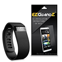 (6-Pack) EZGuardZ Screen Protector for FitBit Charge HR (Ultra Clear)