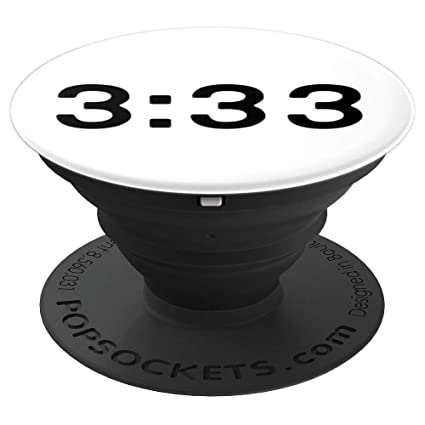 Amazon com: Angel Number 3:33 - PopSockets Grip and Stand for Phones