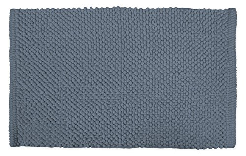 DII Ultra Soft Plush Spa Cotton Pebble Absorbent Chenille Bath Mat Place in Front of Shower, Vanity, Bath Tub, Sink, and Toilet, 21 x 34