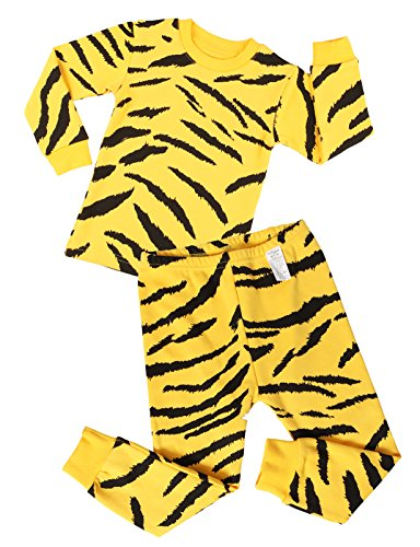 Unifriend Kids' & Baby Unisex ' Thermal Underwear Set-Yellow Tiger US 24M/Asia 100 (KGSPJ042)