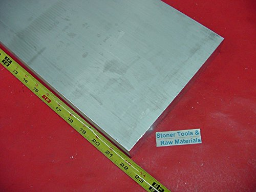 1-1/2'' X 8'' ALUMINUM 6061 FLAT BAR 22'' LONG T6511 Solid Mill Stock Plate 1.500'' by Stoner Metals