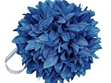 Always Cloud 9 Kissing Balls - Royal Blue Dahlias