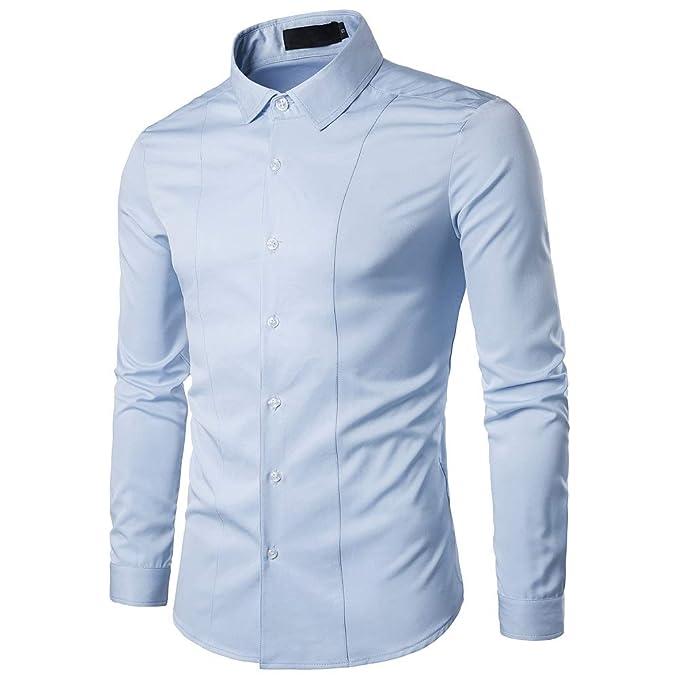 bd58165bd6 Gdtime Camisa De Vestir De Negocios para Hombres