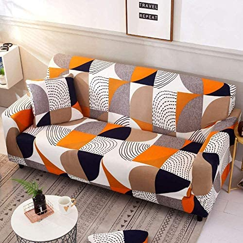 Carvapet Sofa Cover Stretch Couch fodere antiacaro Protector Couch copertura fodera della poltrona Home Decor Stretch Sofa Cover rimovibile 1//2//3//4 posti ,2,1seater 90 * 140cm