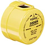 5000M Series Delayed Response Utility Grade Mov Surge Arrestor Photocontrol, 1800VA Ballast, 1'' Light Sensor, 3470-4620W Power, 480VAC Voltage, Yellow