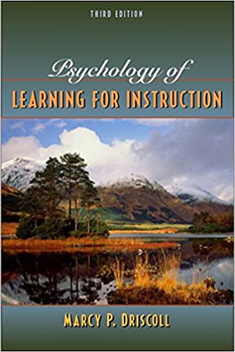 Amazon Psychology Of Learning For Instruction 3rd Edition