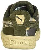 PUMA Unisex Suede Classic Kids Sneaker, Forest