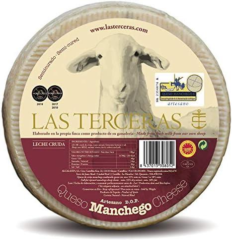 Las Terceras queso manchego semicurado artesano DOP 2600 gr ...