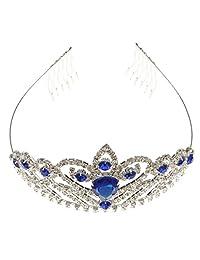 Wedding Bridal Crown Crystal Rhinestone Headband Tiara Headpiece Hair Comb