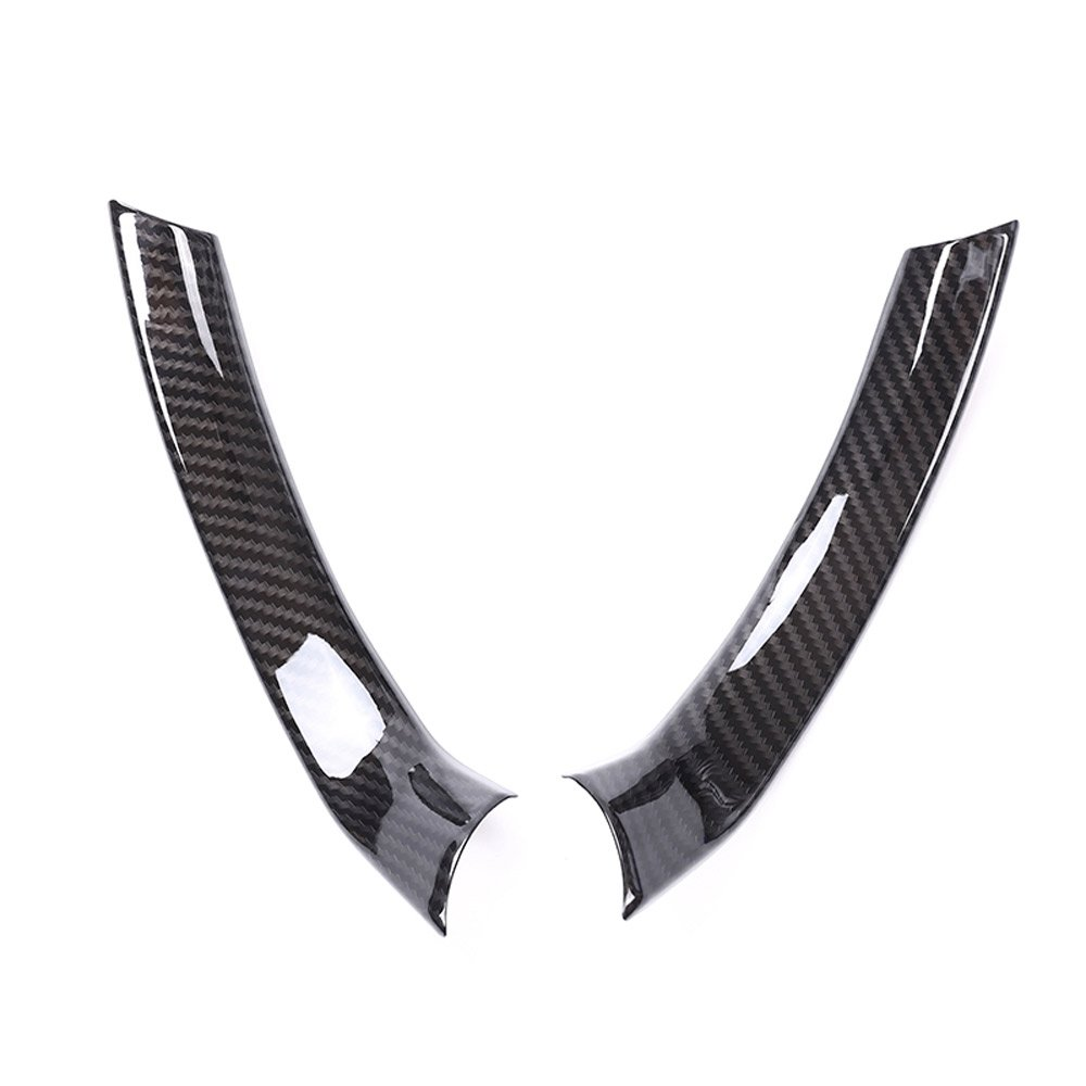 Karbonfaser Auto-Zubeh/ör Lenkrad-Dekorationsstreifen ABS-Kunststoff