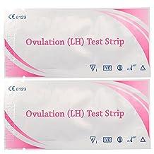 10pcs Ovulation Fertility Test Strips Pregnancy Predictor Urine Fp Chart
