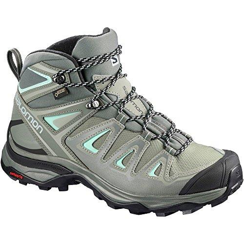 Mid Ultra Donna Escursionismo Stivali W Alti Da X Salomon 3 Gtx Green 7p4qUAw