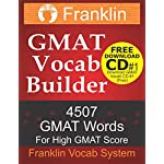 Franklin GMAT Vocab Builder: 4507 GMAT Words For High GMAT Score: FREE Download CD #1 of 22 CDs of GMAT Vocabulary