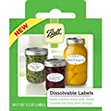 Ball Dissolvable Labels, Set of 60
