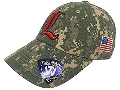 Top of the World Louisville Cardinals TOW Digital Camouflage Flagship Adjustable Slouch Hat Cap from Top of the World