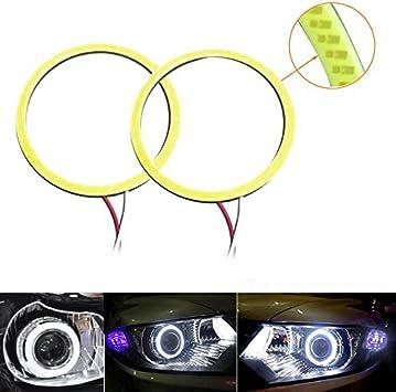 100mm HALO COB LED Rings pair Angel Eyes